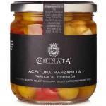 Olives Manzanilla Coupées au Paprika - La Chinata