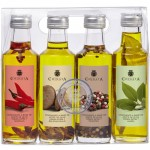 Huile d'Olive Vierge Extra '4 Condiments' - La Chinata (4 x 100 ml)