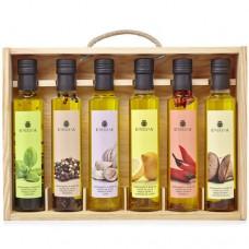 Huile d'Olive Vierge Extra '6 Condiments' - La Chinata (6 x 250 ml)