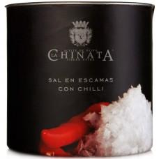 Sel Marin en Paillettes 'Piment Rouge' - La Chinata (165 g)
