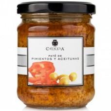 Pâté de Poivrons & Olives - La Chinata (180 g)