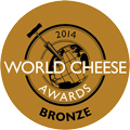 World Cheese Awards 2014 Bronze