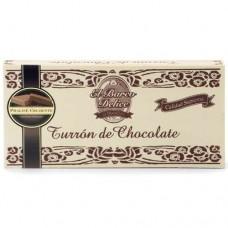Turron au Chocolat 'Praliné Croustillant' - El Barco Delice (300 g)