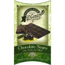 Chocolat Noir à l'Huile d'Olive - El Canario (75 g)