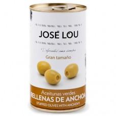 Olives Vertes Facies à l'Anchois - José Lou