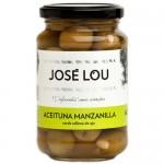 Olives Manzanilla 'Fourrées à l'Ail' - José Lou (355 g)