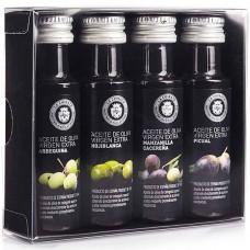 'Box de Dégustation Mini' d'Huile d'Olive Vierge Extra Monovariétale - La Chinata