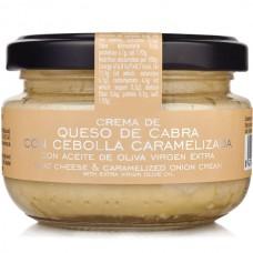 Crème de Fromage de Chèvre avec Oignon Caramélisé - La Chinata