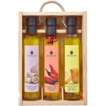 Huile d'Olive Vierge Extra '3 Condiments' - La Chinata (3 x 250 ml)